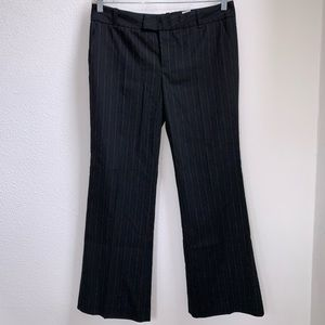 Zara | Striped Bootcut Slacks